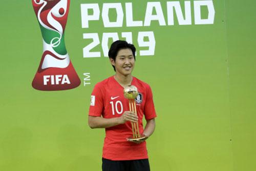 =4. Lee Kangin (Hàn Quốc - Giá trị chuyển nhượng khoảng 13,5 triệu euro).