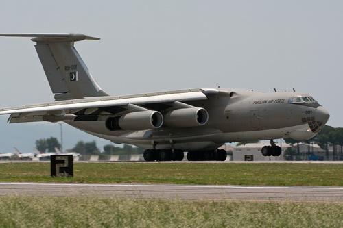 Máy bay tiếp dầu Il-78 của Không quân Pakistan. Ảnh: Wikipedia.
