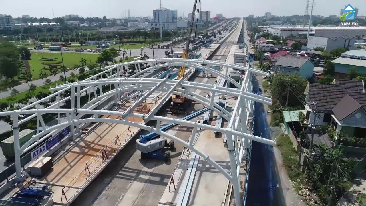 Dự kiến tuyến Metro Bến Thành – Suối Tiên đưa vào khai thác từ cuối năm 2021.