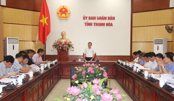 Thanh Hóa: Triển khai kế hoạch tổ chức Hội nghị Xúc tiến đầu tư cấp tỉnh năm 2020
