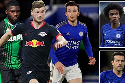 """Chelsea thanh lý 7 ngôi sao để """"dọn đường"""" đón Werner và 2 tân binh khác"""