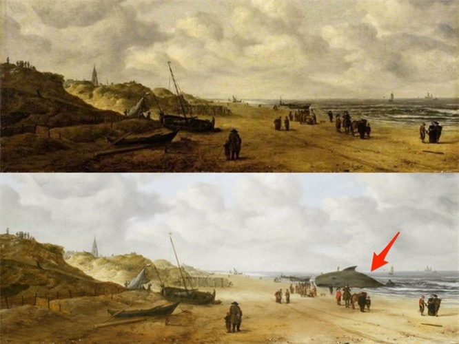 Bức họa được thực hiện vào thế kỷ 17