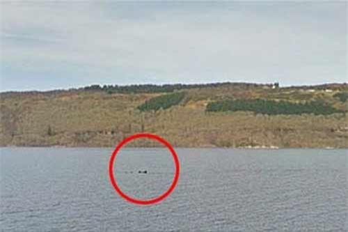 Google phát hiện dấu tích quái vật hồ Loch Ness? - 1