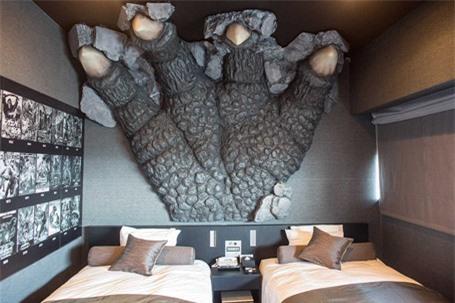 Rùng mình với khách sạn quái vật ở Nhật Bản - ảnh 4
