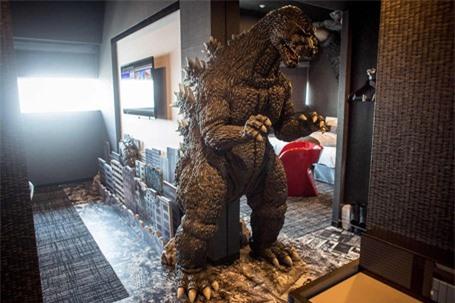 Rùng mình với khách sạn quái vật ở Nhật Bản - ảnh 5