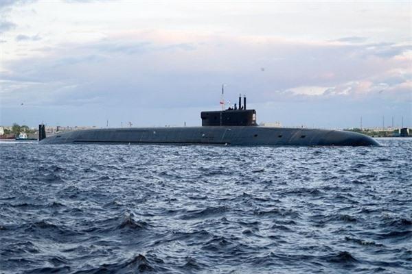 Truyền thông Trung Quốc soi độ 'khủng' tàu ngầm mới của Nga