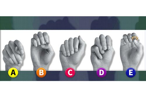 Trắc nghiệm: Bạn nghĩ đâu là bàn tay của phụ nữ?