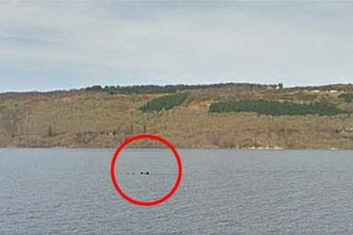 Google phát hiện dấu tích quái vật hồ Loch Ness?