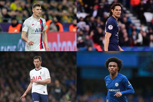 Top 10 cầu thủ tự do đáng chú ý nhất Hè 2020