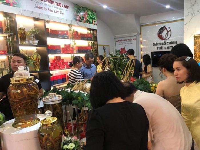 Công ty kỳ vọng sâm Bố Chính Tuệ Lâm sẽ trở thành sâm quốc dân của Việt Nam trong thời gian tới