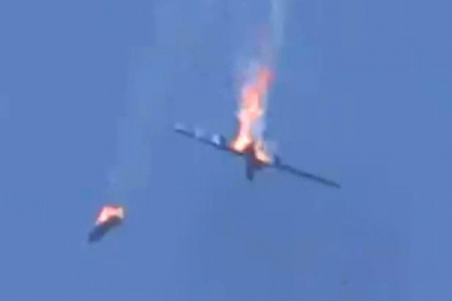 UAV Bayraktar TB2 của Thổ Nhĩ Kỳ đã bị MiG-29 bắn hạ. Ảnh: Avia-pro.