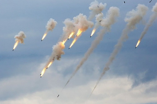 Đã diễn ra trận giao tranh lớn giữa SAA và HTS sau nhiều tháng. Ảnh: Avia-pro.