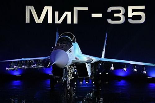 Tiêm kích đa năng MiG-35 tiếp tục trễ hẹn bất chấp những lời quảng cáo hoành tráng. Ảnh: RIA Novosti.