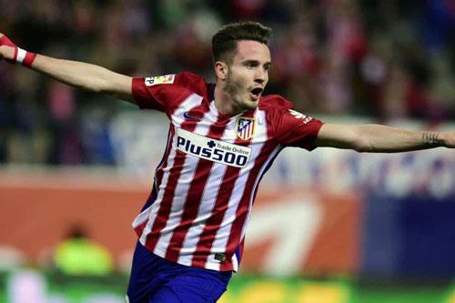 5. Saul Niguez (Atletico Madrid - Định giá chuyển nhượng: 97,7 triệu euro).