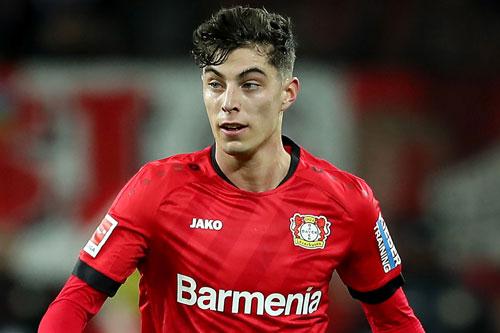 6. Kai Havertz (Leverkusen - Định giá chuyển nhượng: 94,7 triệu euro).