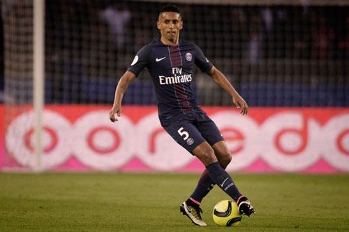 7. Marquinhos Aoas (PSG - Định giá chuyển nhượng: 89,2 triệu euro).