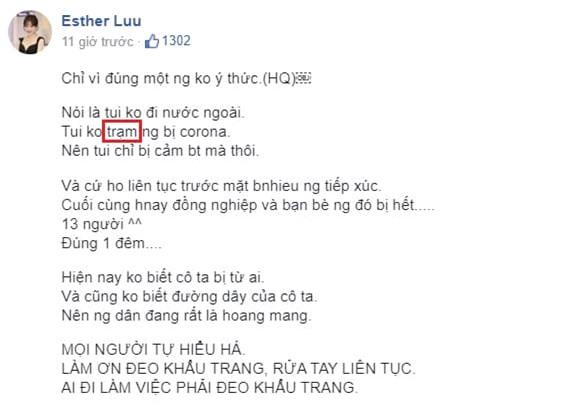 Hari Won sai chính tả 1
