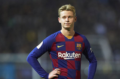 3. Frenke De Jong (Barcelona - Định giá chuyển nhượng: 102,1 triệu euro).