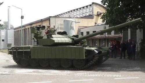 Xe tăng chiến đấu chủ lực M-84 AS1 của Serbia. Ảnh: Defence Blog.