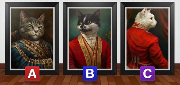 Bạn chọn con mèo nào?