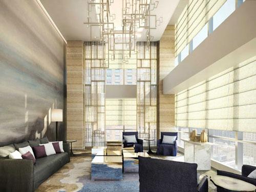 Năm 2018, vị tỷ phú được tiết lộ chính là người sở hữu căn penthouse trị giá 100 triệu USD, tọa lạc tại tòa tháp One57 ở trung tâm thành phố New York. Căn nhà rộng hơn 1.010 m2 với 6 phòng ngủ và 6 phòng tắm. Ảnh: Extell Development.