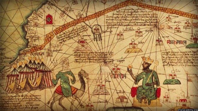 Mansa Musa là người giàu có nhất lịch sử nhân loại.
