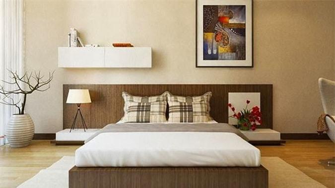 Thiết kế phòng ngủ hợp phong thủy mệnh Thổ