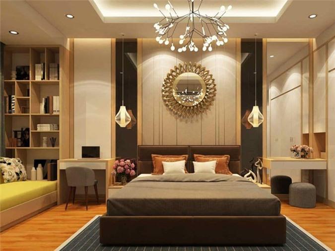 Thiết kế phòng ngủ cho người mệnh Thổ