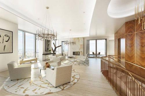 Năm 2017, ông chủ hãng máy tính Dell được cho là chi đến 40 triệu USD để sở hữu một căn penthouse sang trọng nằm ở tòa chung cư cao nhất thành phố Boston, tiểu bang Massachusetts, Mỹ. Ảnh: WSJ.