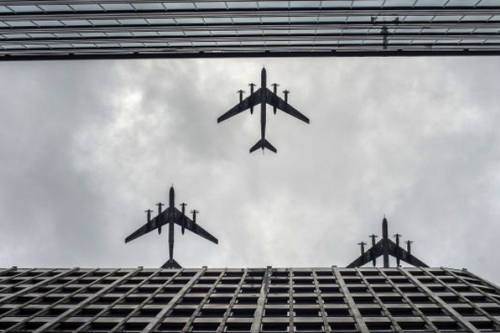 Máy bay ném bom chiến lược Tu-95 của Nga. Ảnh: Fox News.