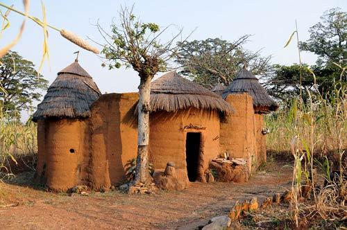Những ngôi nhà nấm của người Benin