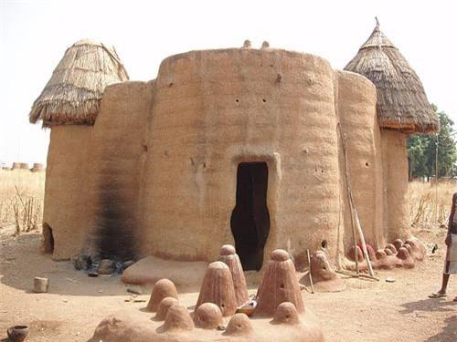 Nhà nấm độc đáo của người Tây Phi - 10