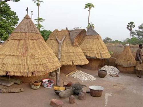 Nhà nấm độc đáo của người Tây Phi - 2