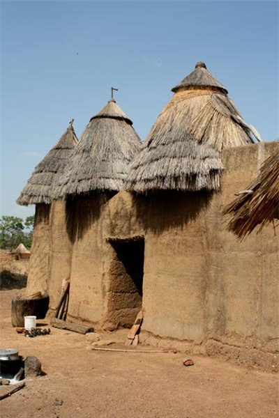 Nhà nấm độc đáo của người Tây Phi - 6