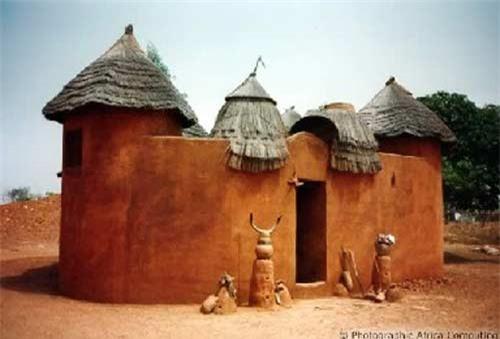 Nhà nấm độc đáo của người Tây Phi - 7
