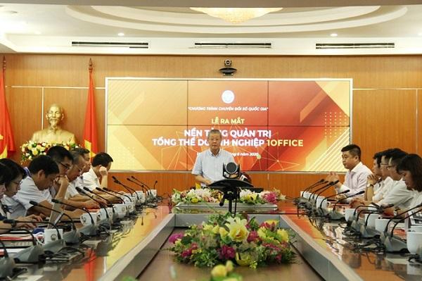 Thứ trưởng Nguyễn Thành Hưng phát biểu tại Lễ ra mắt