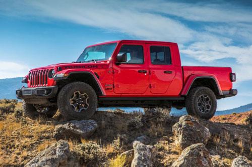 5. Jeep Gladiator.