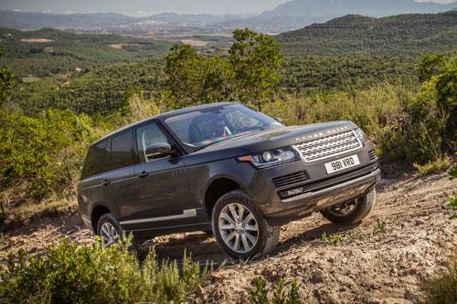 9. Land Rover Range Rover.