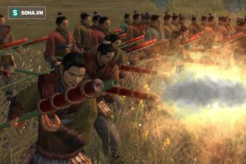 Hỏa thương được coi là vũ khí sử dụng thuốc súng trong chiến trường cổ xưa ở Trung Quốc. Ảnh: Internet