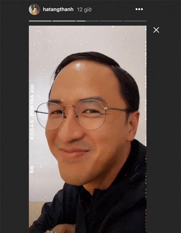 Hà Tăng 'dìm' chồng cực hài hước khiến fan vô cùng thích thú.