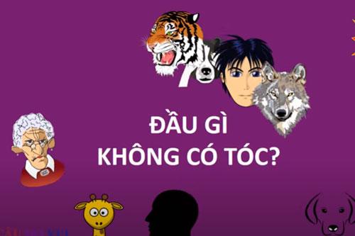 Ảnh: Câu đố vui dân gian Việt Nam.