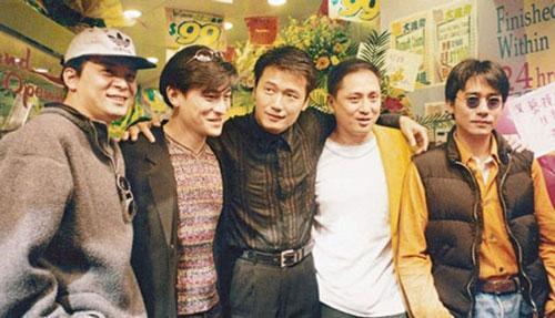 Ngũ hổ tướng lừng lẫy một thời của showbiz Hong Kong.