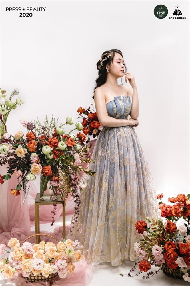 Nét đẹp quyến rũ của Top 10 Hoa khôi trường báo  - ảnh 3