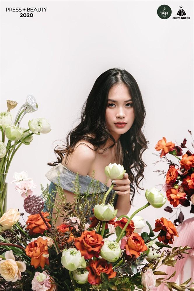 Nét đẹp quyến rũ của Top 10 Hoa khôi trường báo  - ảnh 5
