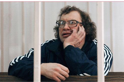 Trùm lừa đảo Sergei Movrodi trong thời gian ngồi tù. Ảnh: TASS