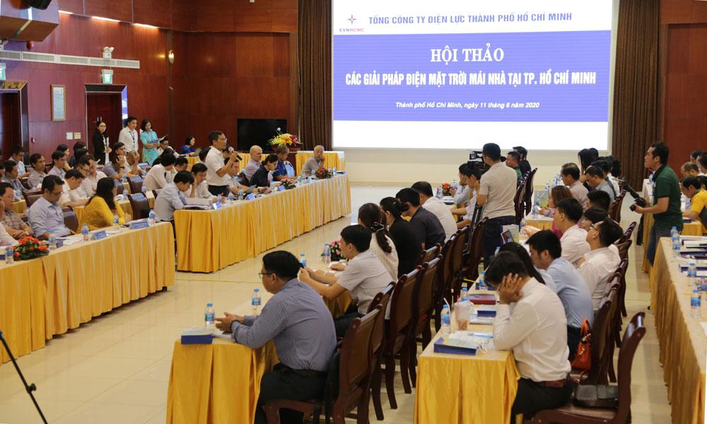 Các chuyên gia kinh tế và doanh nghiệp đã đưa ra giải pháp phát triển ĐMTMN tại TP. Hồ Chí Minh