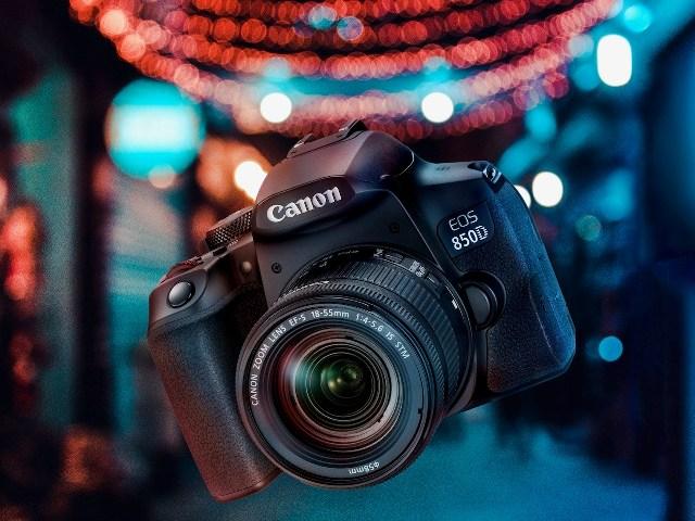 """EOS 850D – Chiếc máy ảnh DSLR dòng bán chuyên mới  nhất của Canon, nhỏ gọn, hợp túi tiền mà tính năng """"khủng""""."""