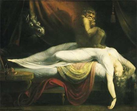 Bức tranh cơn ác mộng được hoàn thành vào năm 1781.