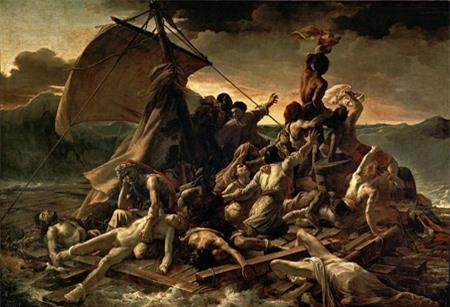 Bức tranh Chiếc bè của chiến thuyền Méduse vẽ trong khoảng thời gian 1818-1819