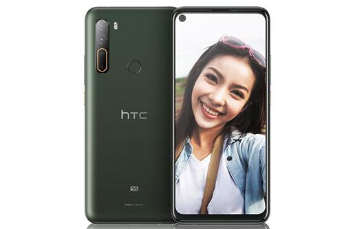 HTC U20 5G sở hữu kích thước lần lượt là 171,2x78,1x9,4 mm, trọng lượng 215,5 g.